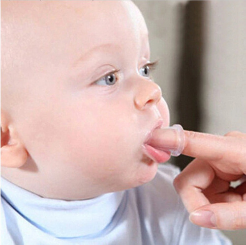 cepillo dientes bebe tipo dedal masajeador encias kipofertas