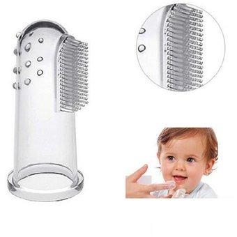 cepillo dientes de dedo para bebe - unidad a $16500