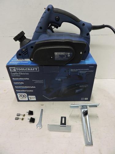 cepillo eléctrico 3-1/4 700w toolcraft modelo tc3440