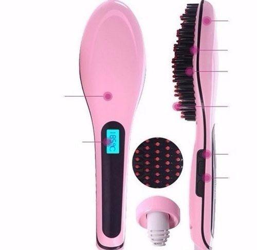 cepillo electrico alisador de cabello