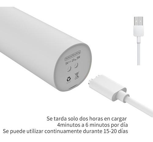 cepillo eléctrico dental  recargable gris    envio gratis