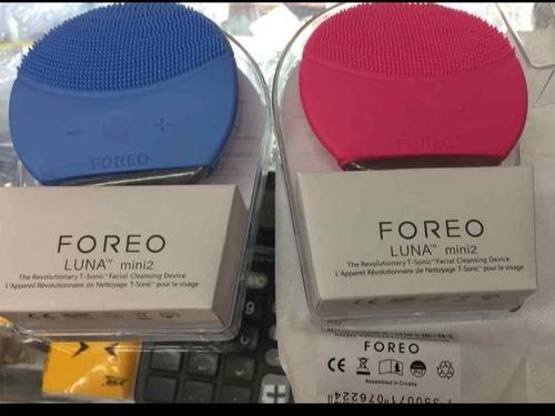 cepillo electrico facial foreo masajeador exfoliante cutis.!