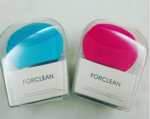 cepillo electrico facial limpiador exfoliante para rostro