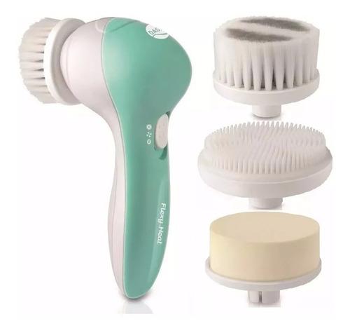 cepillo facial daga - limpieza exfoliante - piel sensible