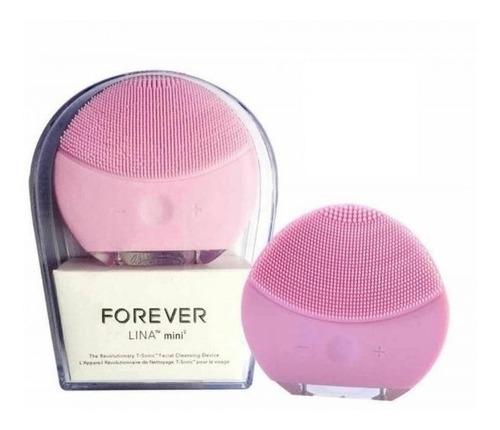 cepillo facial eléctrico / limpiador y exfoliador forever