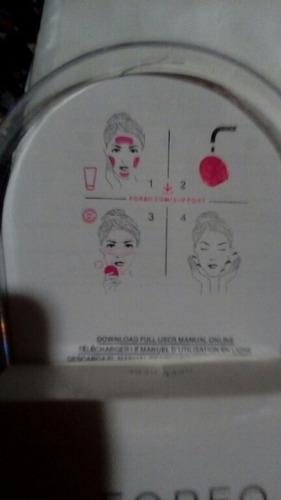 cepillo facial foreo eléctrico exfoliante masajeador cutis