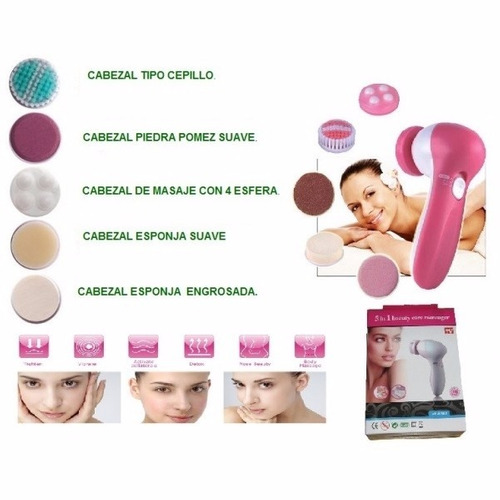 cepillo facial - limpiador-masajeador-exfoliador-antiarrugas