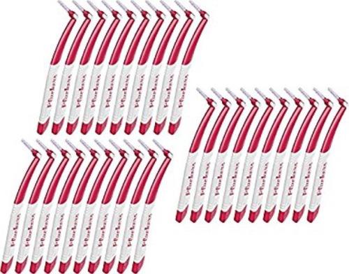 cepillo interdental ortodoncia marca plackers angle brush