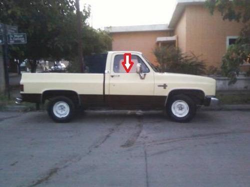cepillo lamevidrio de puerta camioneta chevrolet c10 73-91