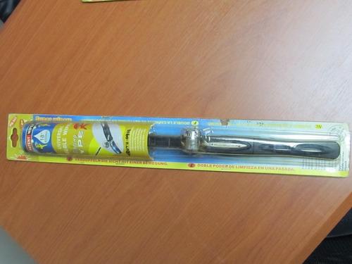 cepillo limpia parabrisa 18  doble wiper blade con luz led