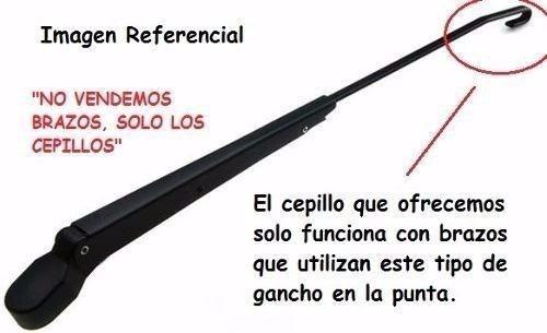 cepillo limpia parabrisas acdelco boomerang 14-15-16-18-26