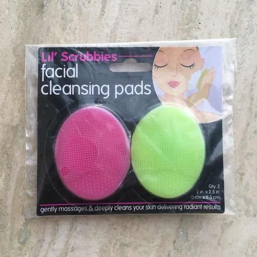 cepillo limpiador facial de silicon cleansing pad foreo