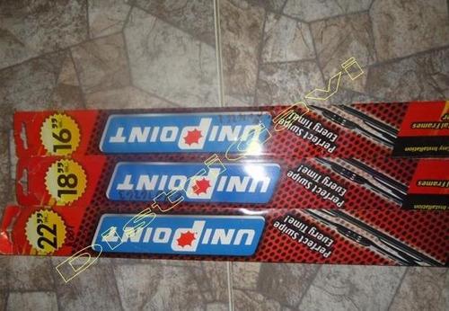 cepillo limpiaparabrisa metal unipoint 16,18,22 original