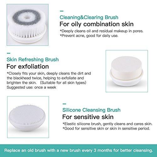 cepillo limpieza facial facial cepillo facial