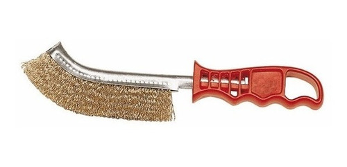 cepillo manual de acero bronceado con mango mota f116a