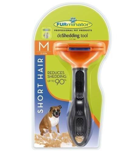 cepillo mascota furminator m (original) hasta 22,5kg + envío