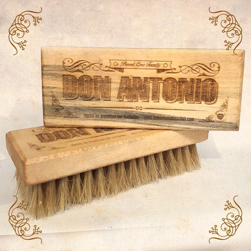 cepillo para barba don antonio beard oil