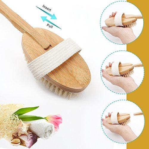cepillo para el cuerpo de ducha y baño espalda depurador