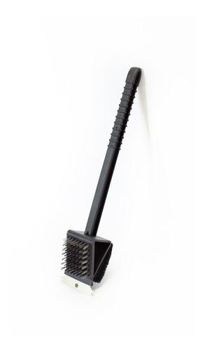 cepillo para limpiar parrilla doble