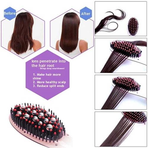 cepillo / plancha alisador fast hair straightener /pantalla