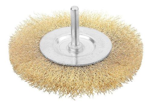 cepillo plano taladro industrial bronceado 75mm tolsen 77542