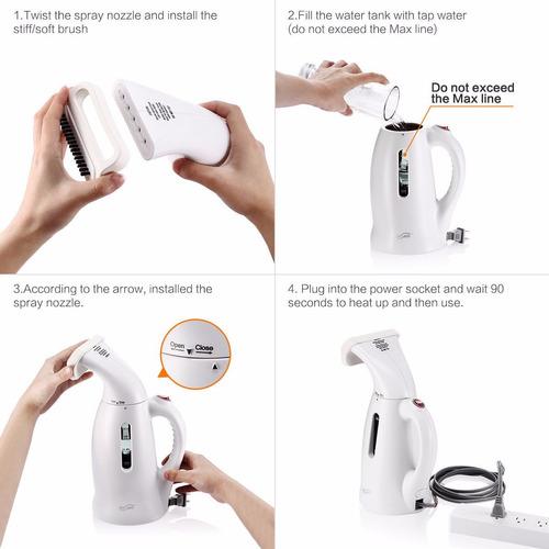cepillo portatil caliente compact fabric para ropa /prendas
