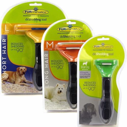 cepillo profesional grooming para mascota  furminator