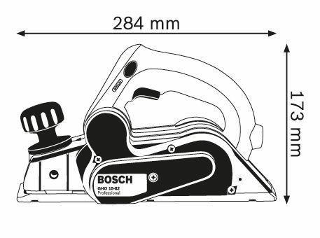 cepillo profesional marca bosch modelo gho 15-82