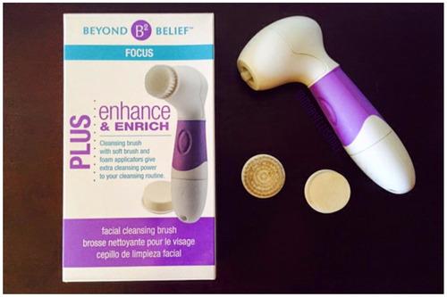 cepillo rotatorio de limpieza facial