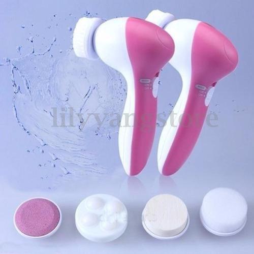 cepillo spa facial 5-1 multifunción electrico masage exfolia