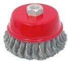 cepillo trenzado de copa circular de  5   best valve