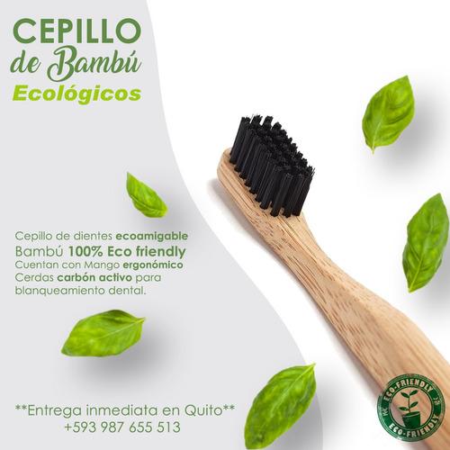 cepillos de bambú ecológicos | santa ecologia
