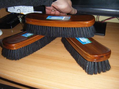 cepillos de cerda lustrar zapatos x 10 unidades muy bueno