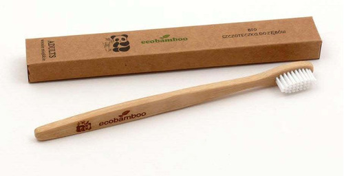 cepillos de dientes de bambú (biodegradables)