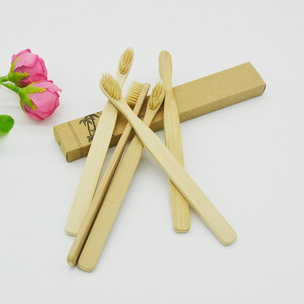 Cepillos De Dientes Ecológicos De Bambú Adultos Y Niños -   6.000 en ... b69f5ce2660c