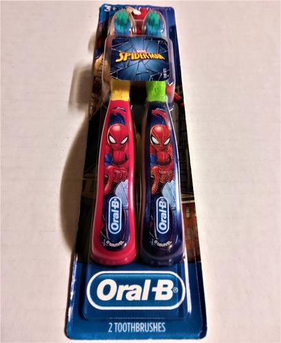 cepillos de dientes spiderman - unidad a $30500