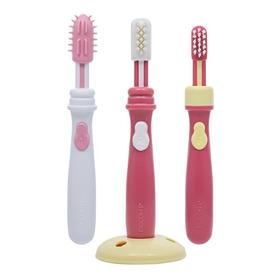 Cepillos Dentales Pasos 1, 2 Y 3 Amarillo