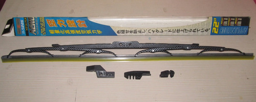 cepillos limpiaparabrisas no. 22 tuning con spoiler 3 modelo