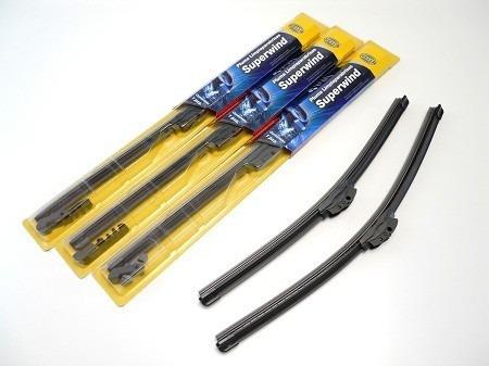 cepillos limpiaparabrisas tipo boomerang hella original