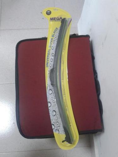 cepillos limpiaparabrisas universal. bumeran 16 18 20 pulgad