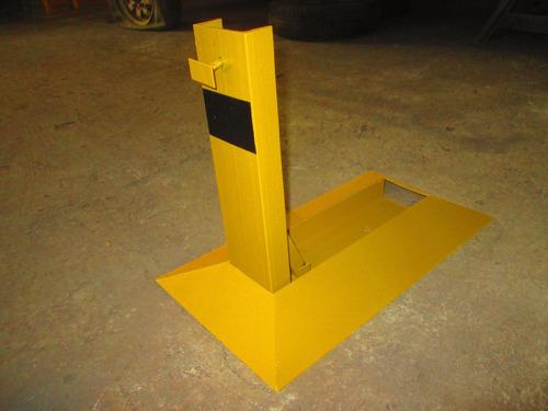 cepos - bloqueador - guarda puestos - estacionamiento