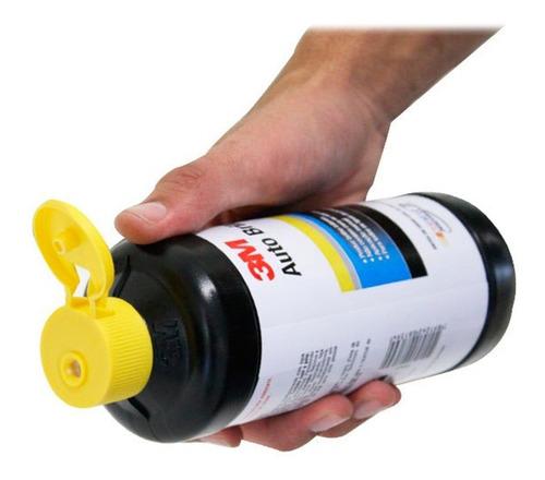 cera auto brilho 3m 500 ml polidor lustrador cristalização