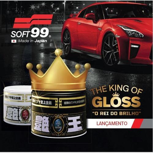 cera automotiva - the king of gloss black - ed. limitada