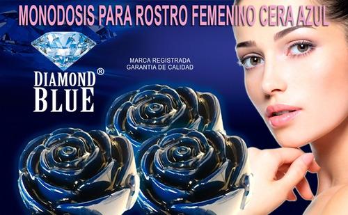 cera azul diamond blue monodosis para rostro femenino