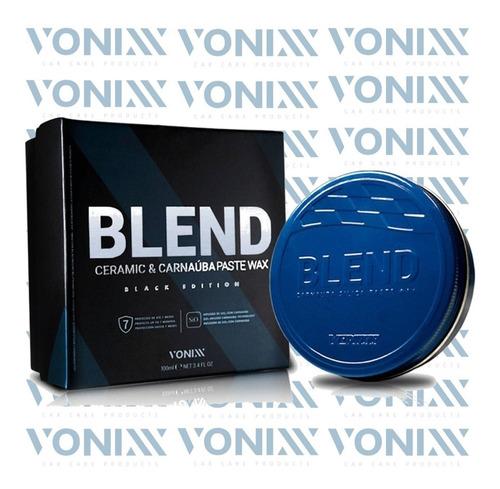 cera blend ceramic & carnaúba paste wax black edition