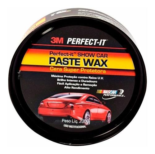 cera carnauba paste wax 3m perfect it 200gr