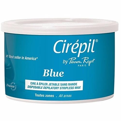 cera cirépil azul sin tiras, entrega 12 dias