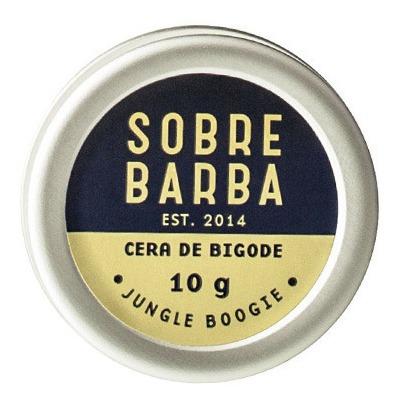 cera de bigode jungle boogie sobrebarba 10g