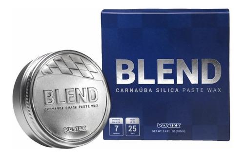cera de carnaúba blend paste wax com sílica 100g - vonixx