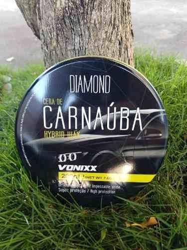 cera de carnauba super protetora hybrid wax 200g vonixx